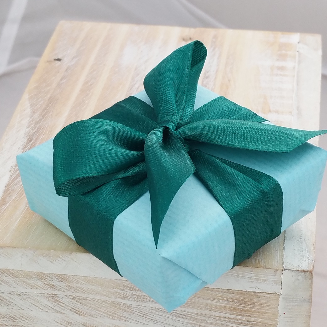 Neatly and professionally gift wrapped
