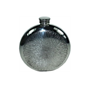 Engraved Sunfish Hip Flask with FREE Engraving & Gift Box