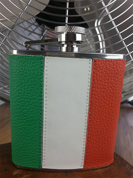 Republic of Ireland Hip Flask with Gift Box