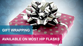 Gift Wrapping Available On Most Hip Flasks