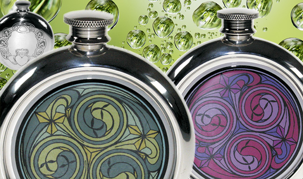Irish & Celtic Hip Flasks