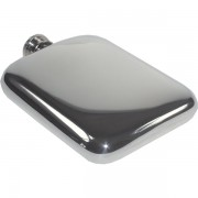 Luxurious Cushion Engraved Hip Flask