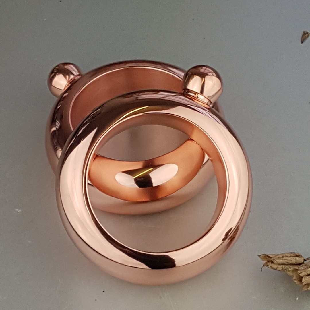 Ladies' Copper Bangle Hip Flask 3