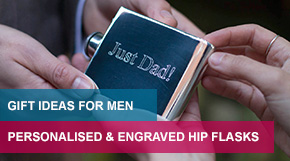 Personalised & Engraved Hip Flask Gift Ideas For Men Ireland on FlaskStore.ie Hip Flasks